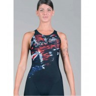 Swimsuit Diana Woman GB FLAG-KNEE