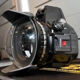 Kit Custodia Sea&Sea RDX-550D per Canon 500D / 450D (custodia,oblò zoom e ghiera zoom 18-55)