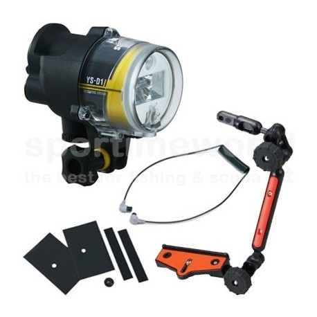 Flash Sub Sea&Sea YS-D1 TTL II + Kit (flash, cavo f.o. e Sea Arm VII compact)