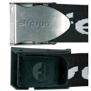 Cintura Effesub Fibbia Inox o Nylon