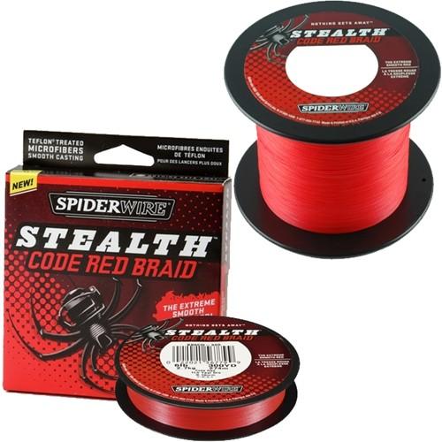Spiderwire Stealth Code Braid Red