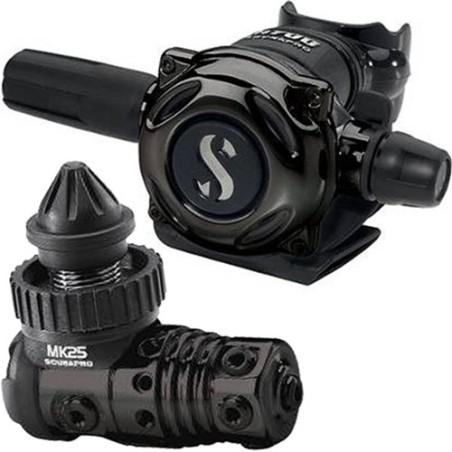 Erogatore Scubapro MK 25 A700 BLACK TECH