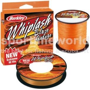 Trecciato Dyneema e Kevlar Berkley Whiplash Blaze Orange mt. 270