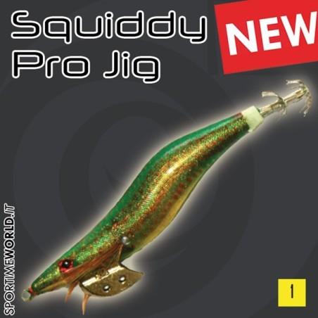 Olympus SQUIDDY PRO JIG - Esche Artificiali Totanare per Seppie e Calamari