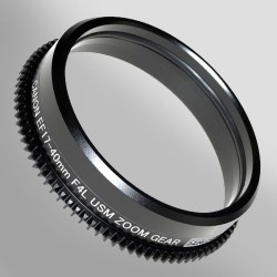 Ingranaggio Zoom Sea&Sea per Obiettivo Canon EF17-40