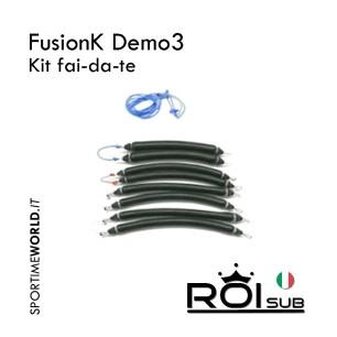 Kit de caoutchouc ROIsub FusionK Demo3 - Prêt à pêcher