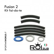 ROIsub Fusion 2 Rubber Kit - Do it yourself