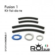 ROIsub Fusion 1 rubber Kit - Do it yourself