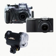 Fotocamera Sea&Sea DX - 2G + Set Custodia + Set Flash YS - 01
